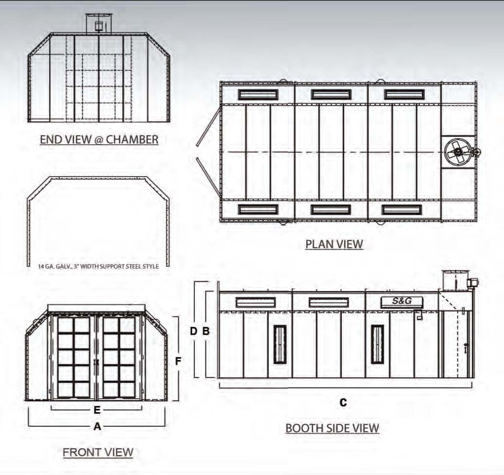 EZ Classic Crossdraft Paint Booth plan